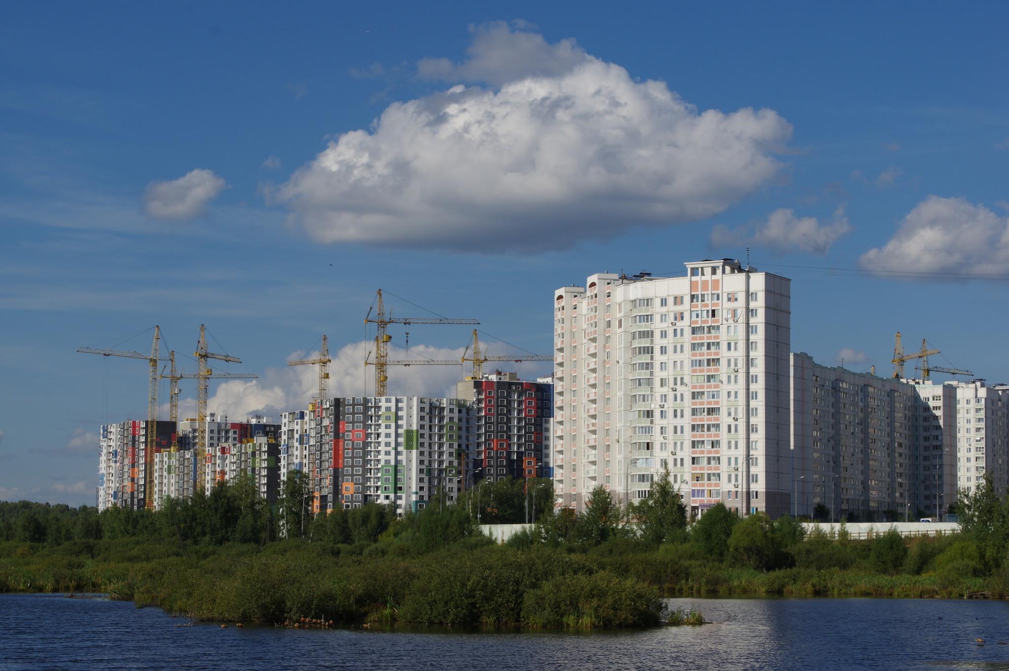 Cтроительство жилых домов с нежилым первым этажом по адресу: г. Москва, СВАО, район Северный, Дмитровское шоссе, владение 167 (1-я очередь)