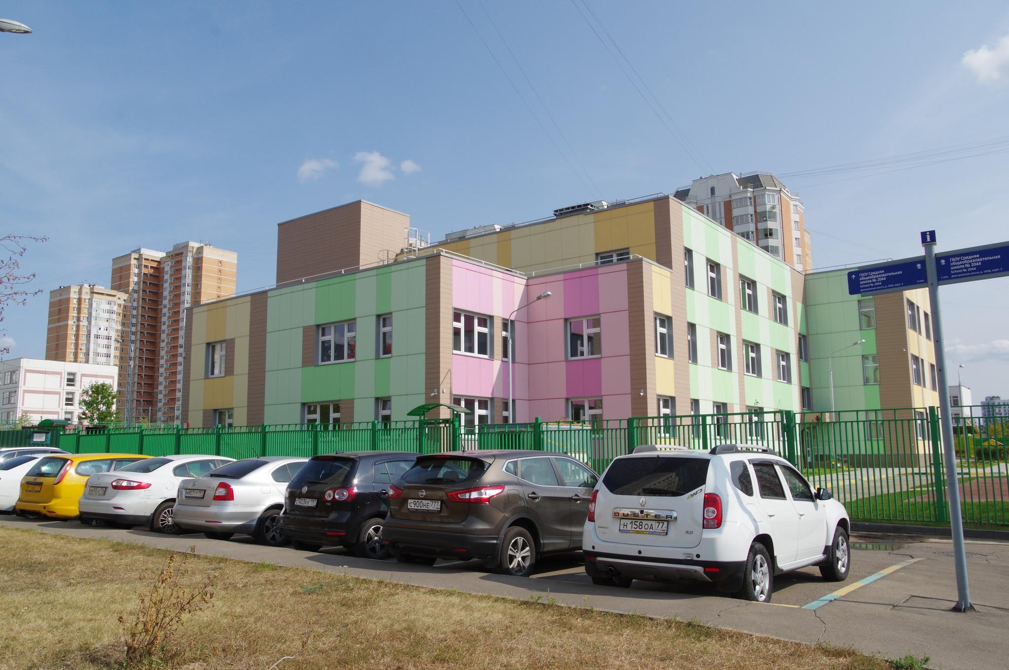 Детский сад на 200 мест (Дмитровское шоссе, вл. 165, корп. 5)
