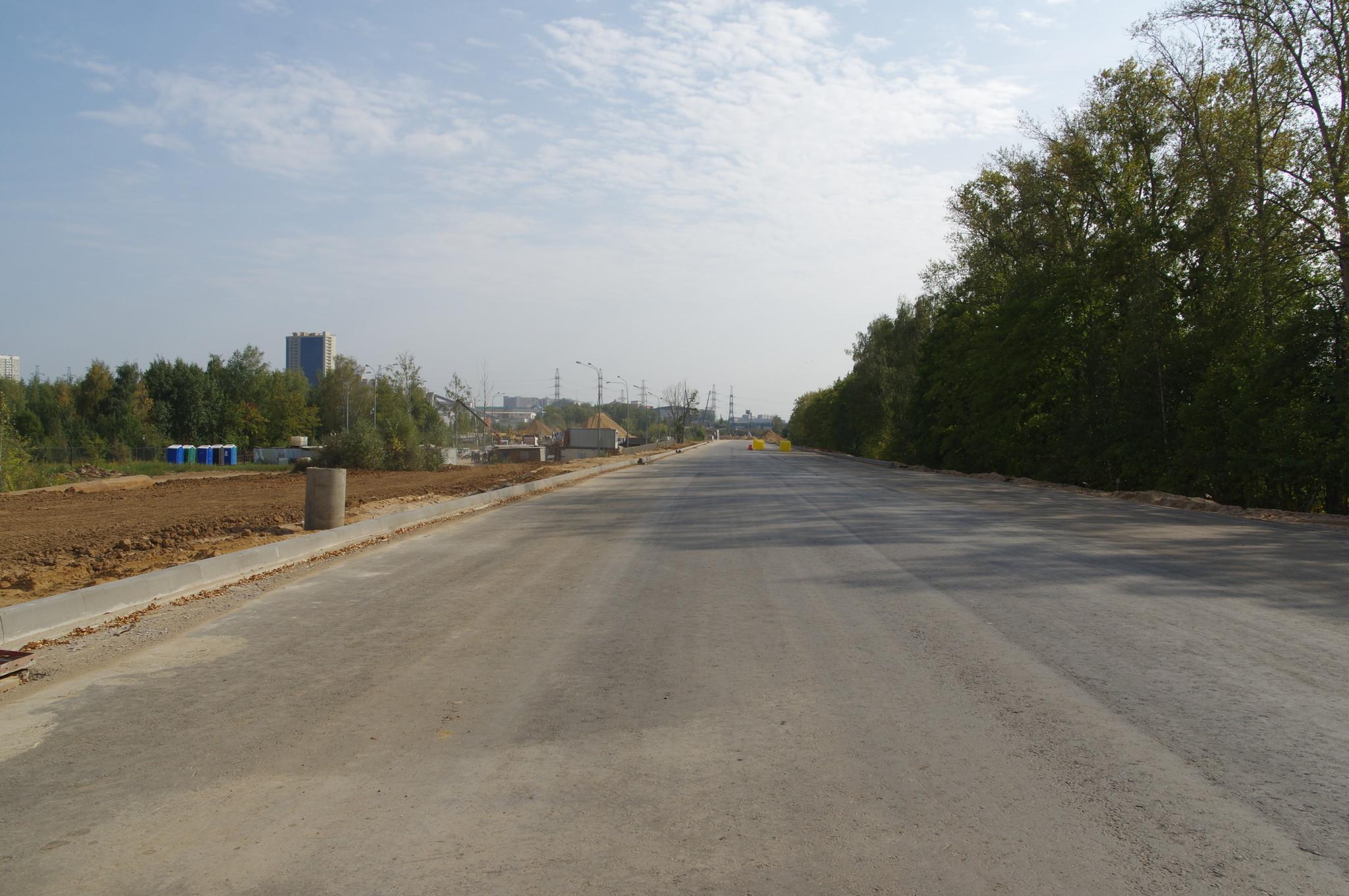 Строительство автодороги - дублёра Дмитровского шоссе вдоль Савёловского направления Московской железной дороги