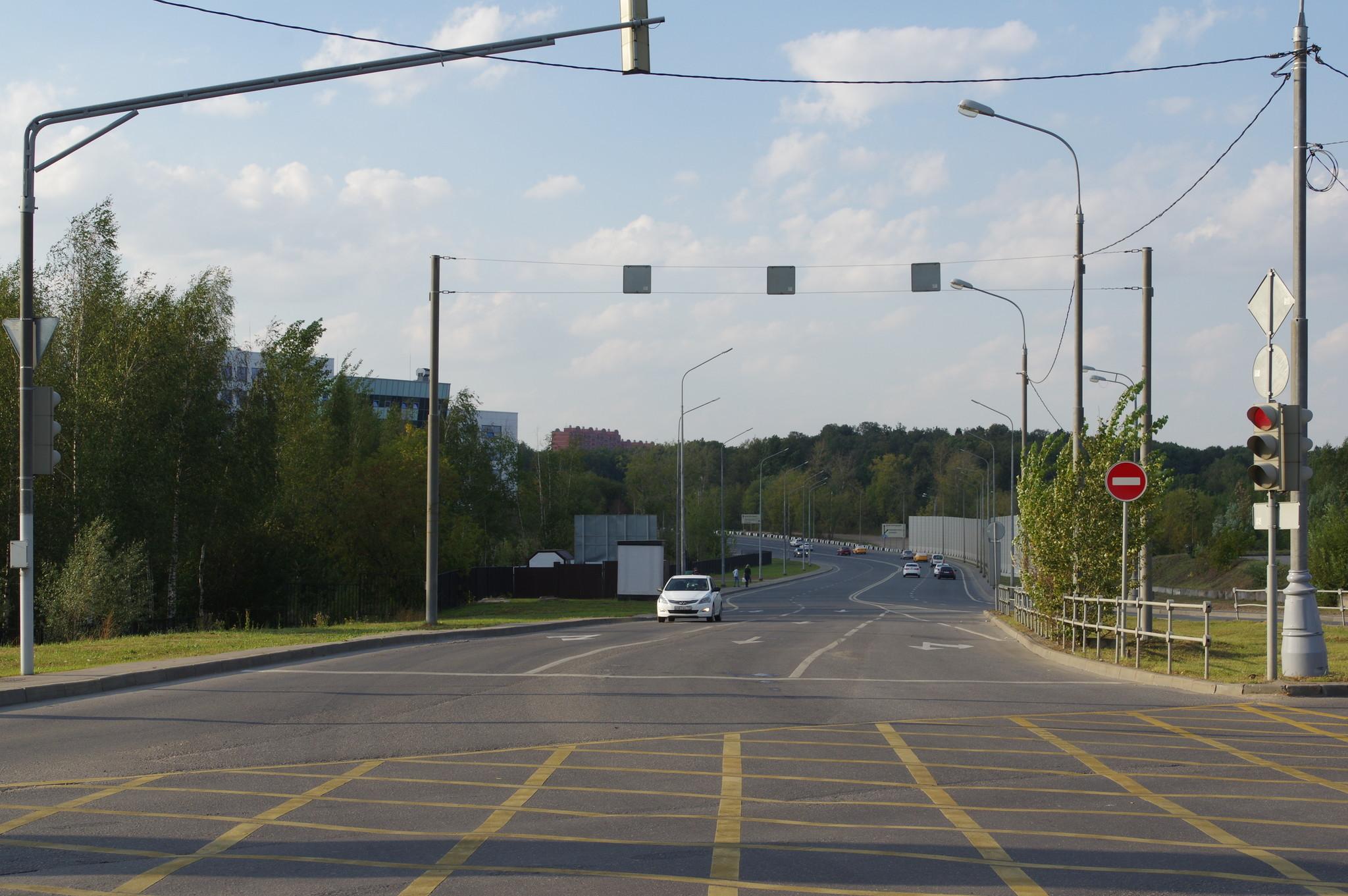 Долгопрудненским шоссе