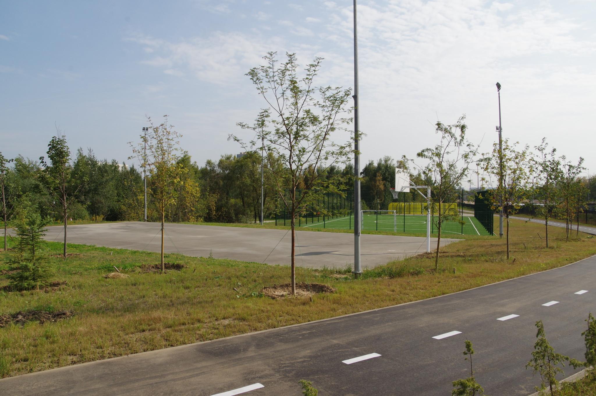 Рекреационная парковая зона «Долгие пруды»