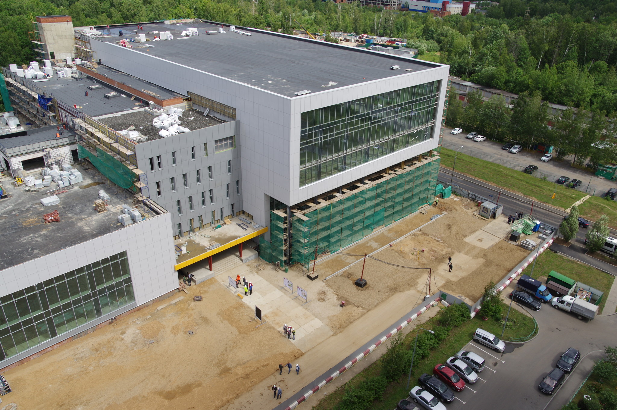 Строительство спортивной школы олимпийского резерва «Северный»