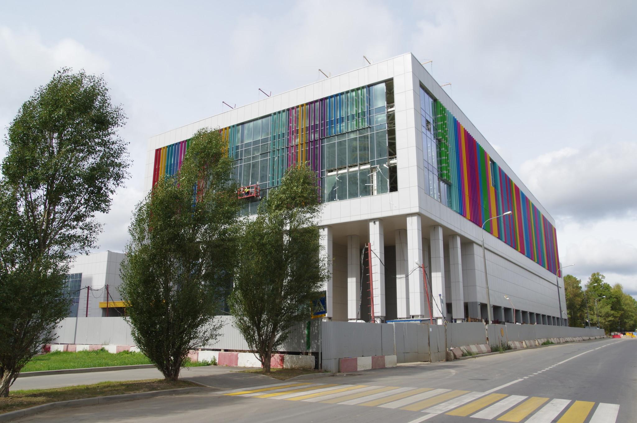 Строительство спорткомплекса на 9-й Северной линии, дом 1Б для учеников спортивной школы олимпийского резерва «Северный»