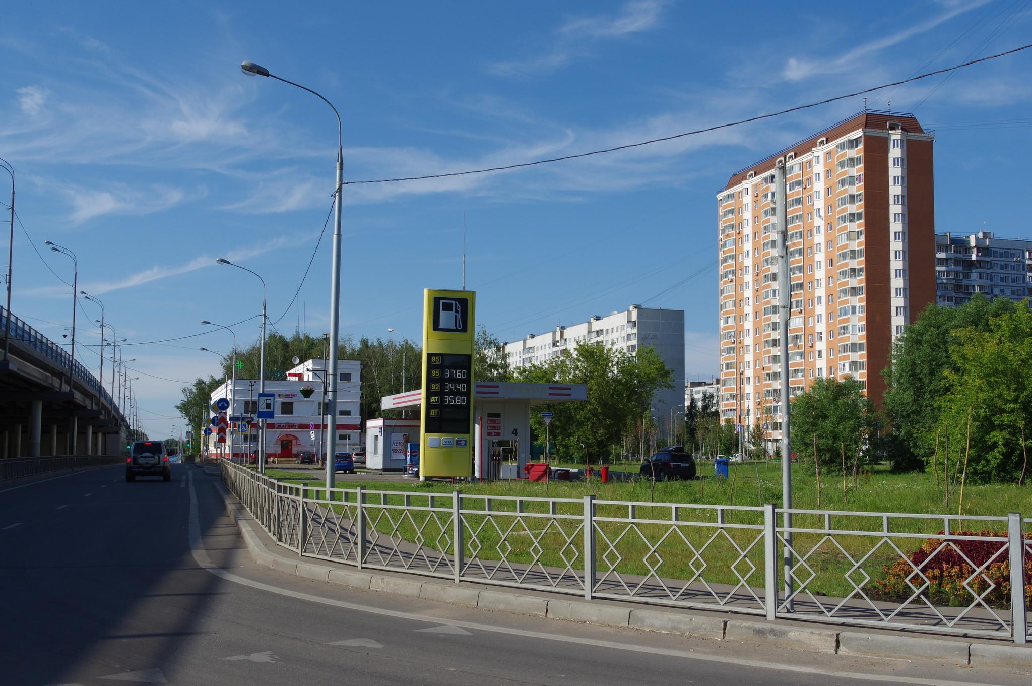 АЗС ЕКА (Дмитровское шоссе, владение 124Д)