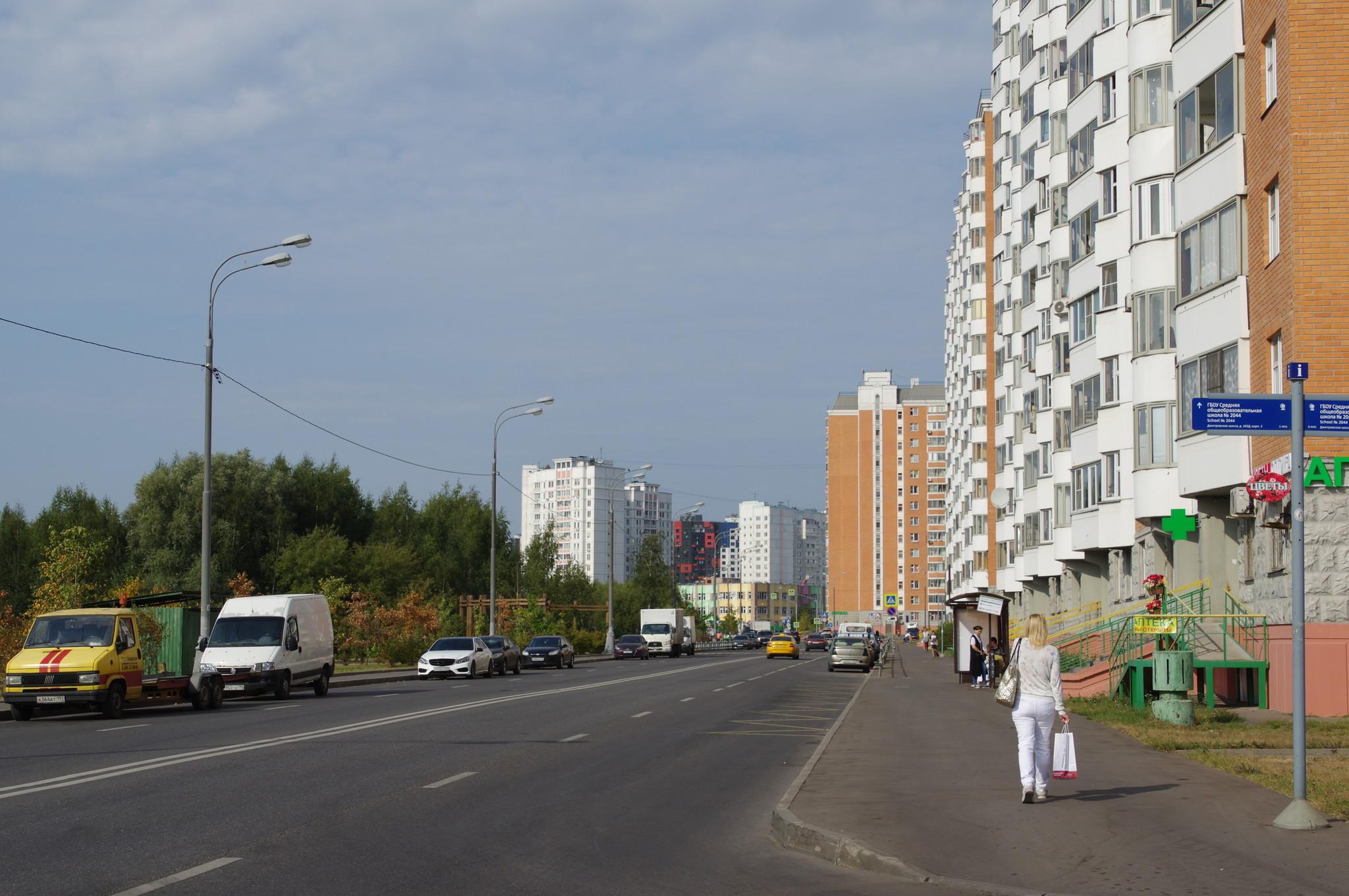 Улица Академика Алханова - улица в Москве в районе Северный Северо-Восточного административного округа Москвы