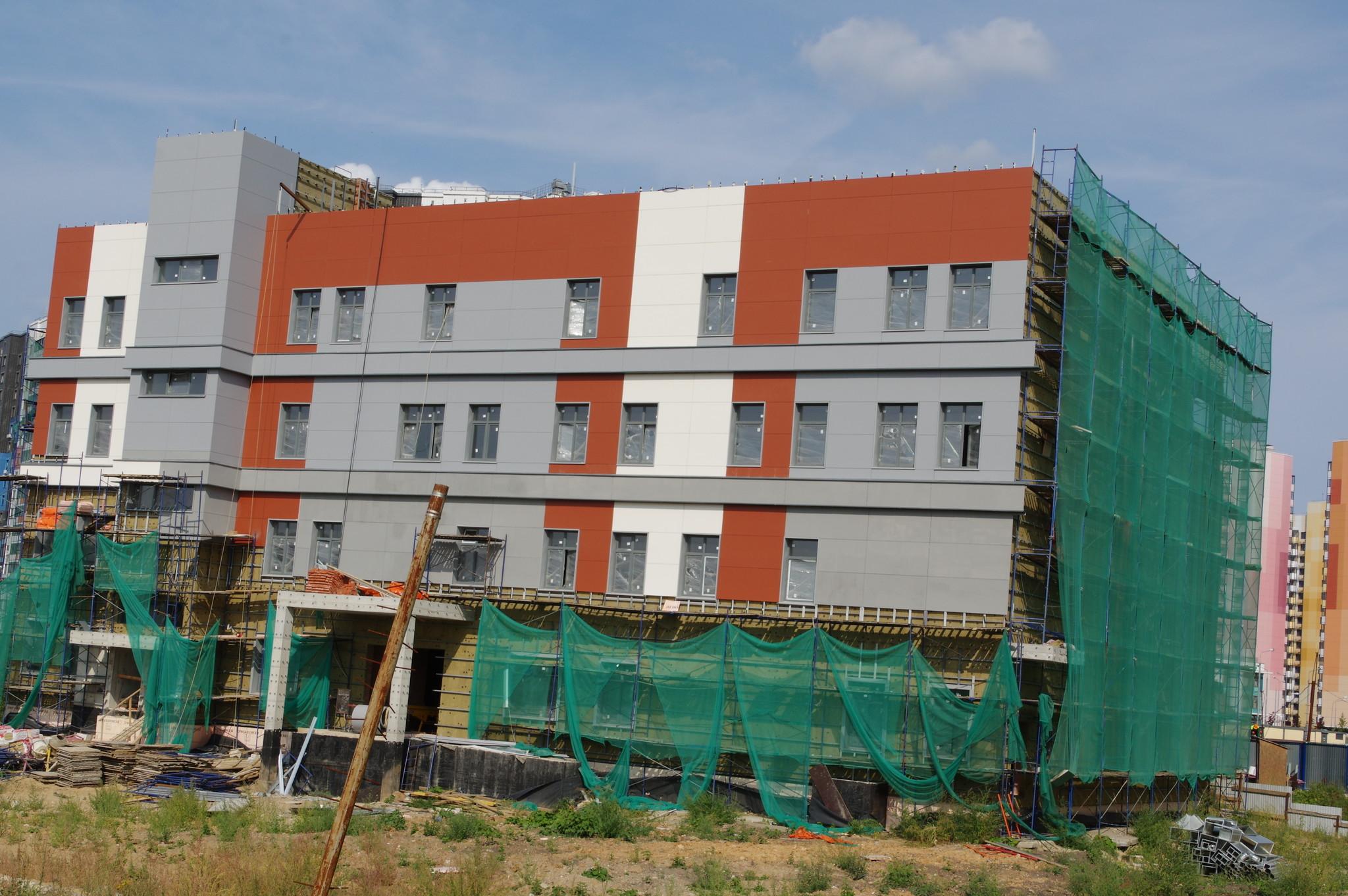 Строительство здания для размещения Управления социальной защиты населения и Центра социального обслуживания района Северный (Дмитровском шоссе, владение 167)