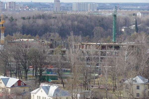 Строительство нового корпуса на 650 мест общеобразовательной школы № 709 в районе Северный СВАО города Москвы