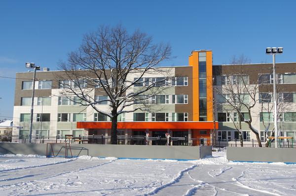 Новый корпус Государственного бюджетного общеобразовательного учреждения города Москвы «Школа № 709» (7-я Северная линия, вл. 13)