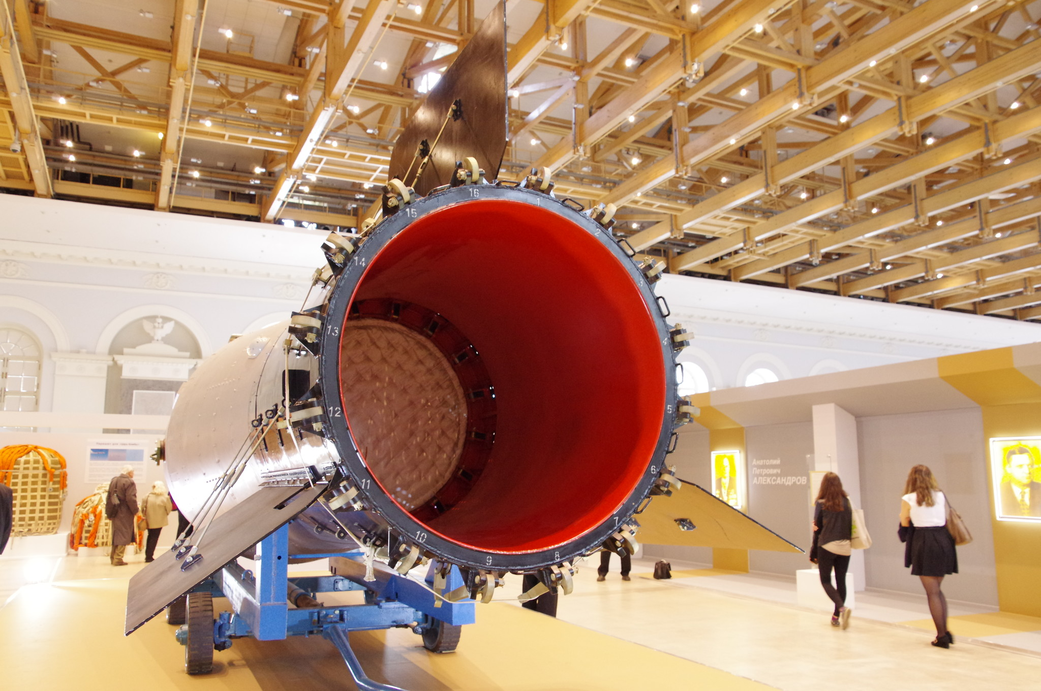 Макет термоядерной бомбы АН602, находящийся в Саровском ядерном центре (РФЯЦ-ВНИИФ)