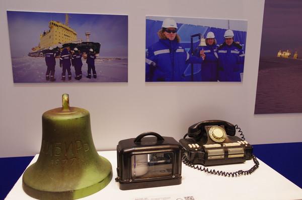 Рында атомного ледокола «Сибирь». 1977 г.