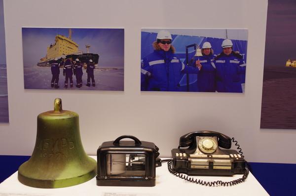 Рында атомного ледокола «Сибирь». 1977 год
