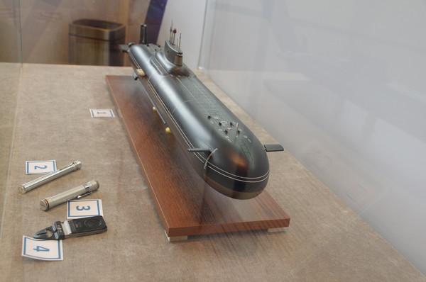 Модель тяжёлого ракетного подводного крейсера стратегического назначения проекта 941 «Акула»