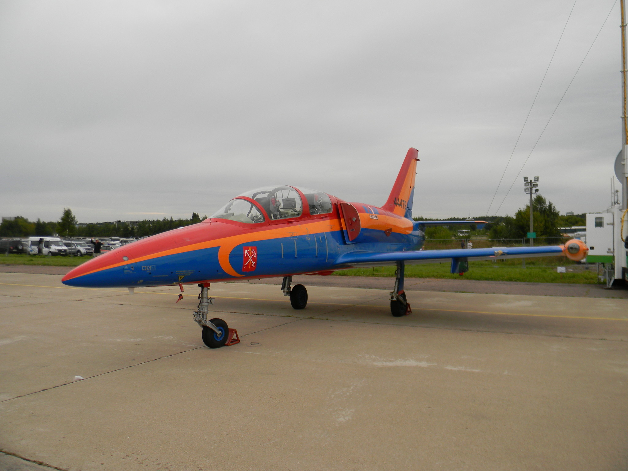 Самолёт-лаборатория на базе самолёта Л-39