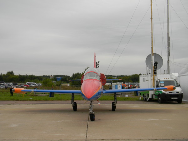Самолёт-лаборатория на базе самолёта L-39