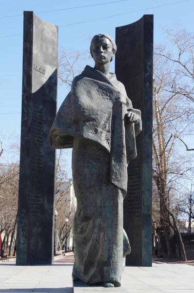 Памятник Надежде Константиновне Крупской на Сретенском бульваре