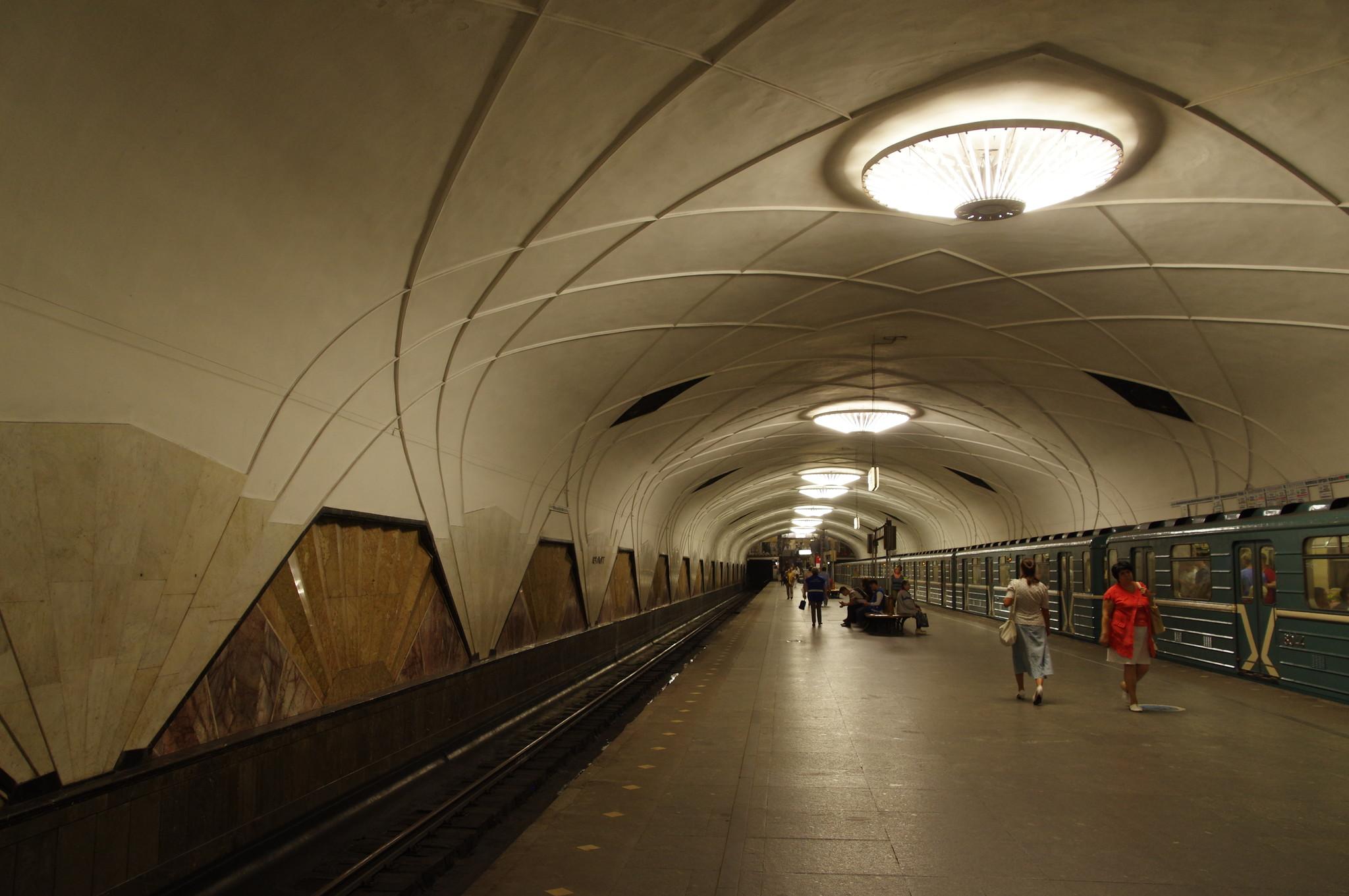 Станция «Аэропорт» Замоскворецкой линии Московского метрополитена