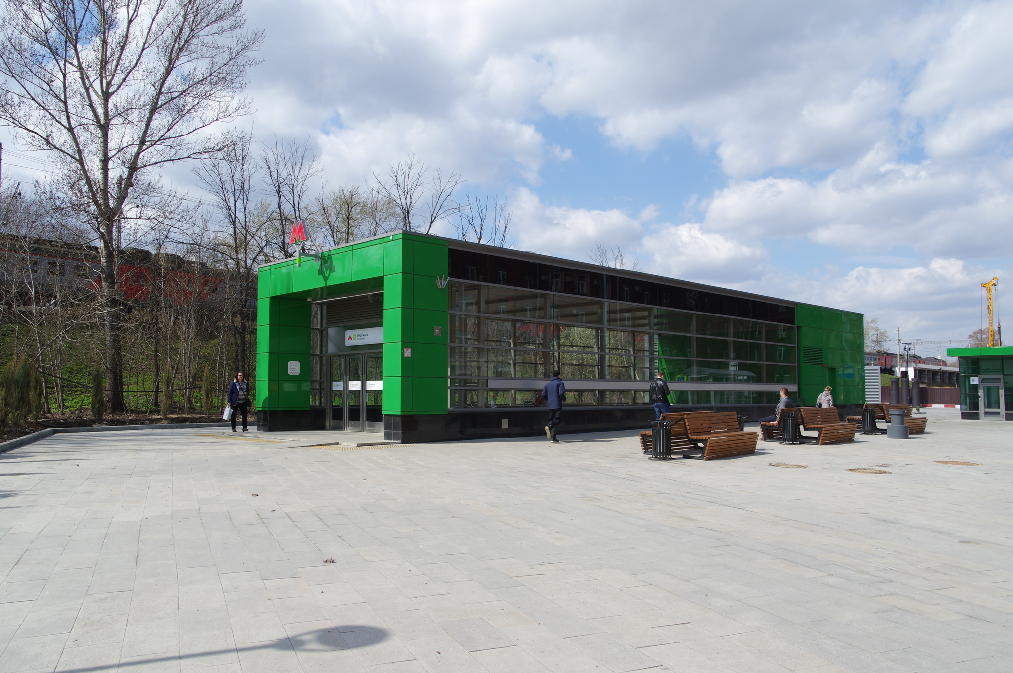 Станция «Окружная» Люблинско-Дмитровской линии Московского метрополитена