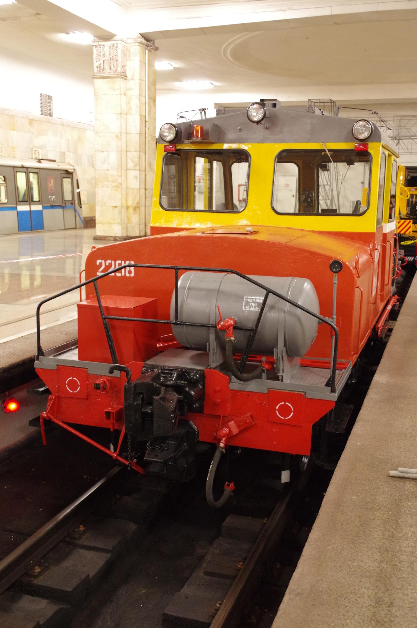 Мотовоз МК2/15 № 2298 выпуска 1953 года