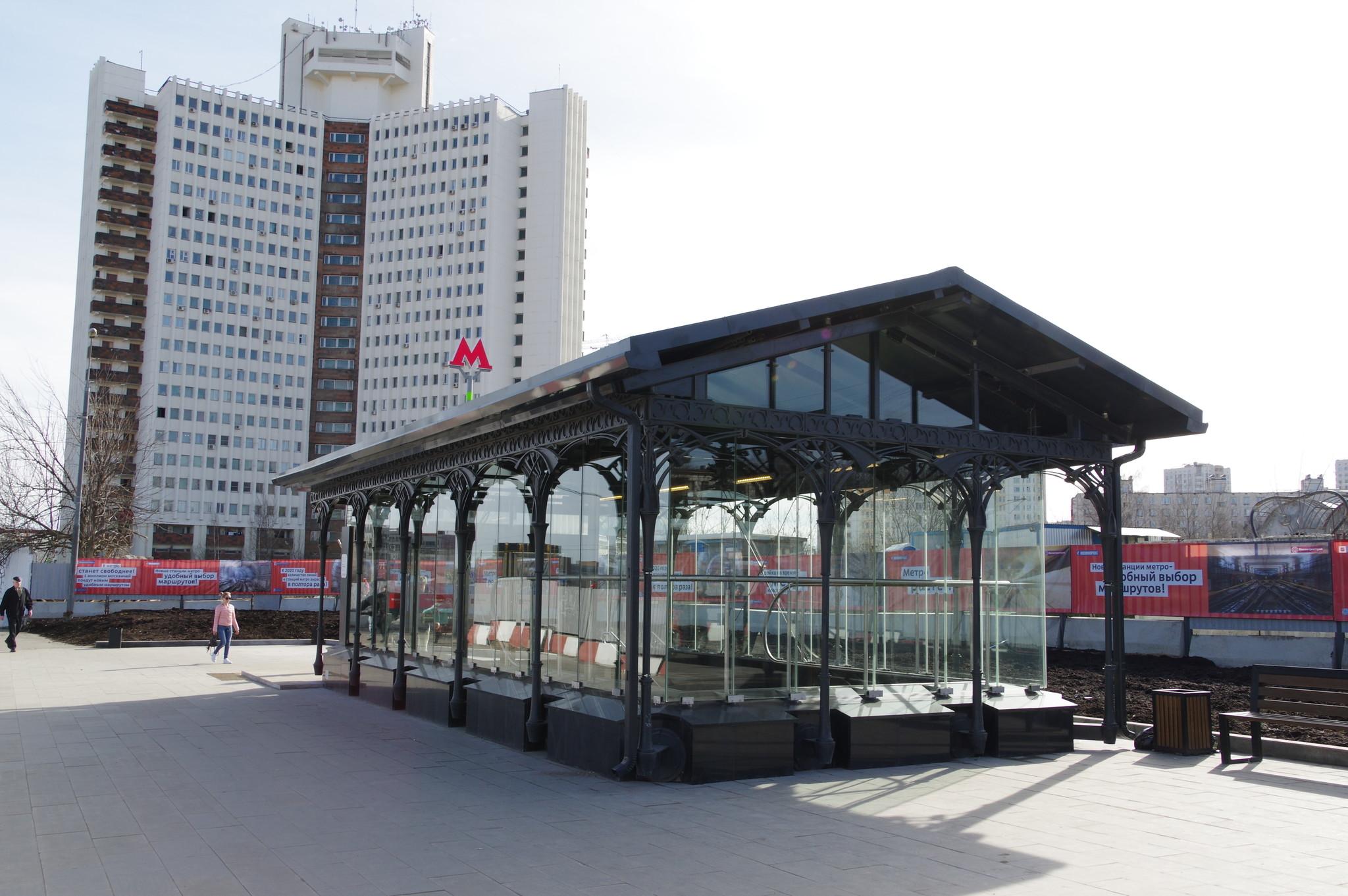 Станция «Селигерская» Люблинско-Дмитровской линии Московского метрополитена