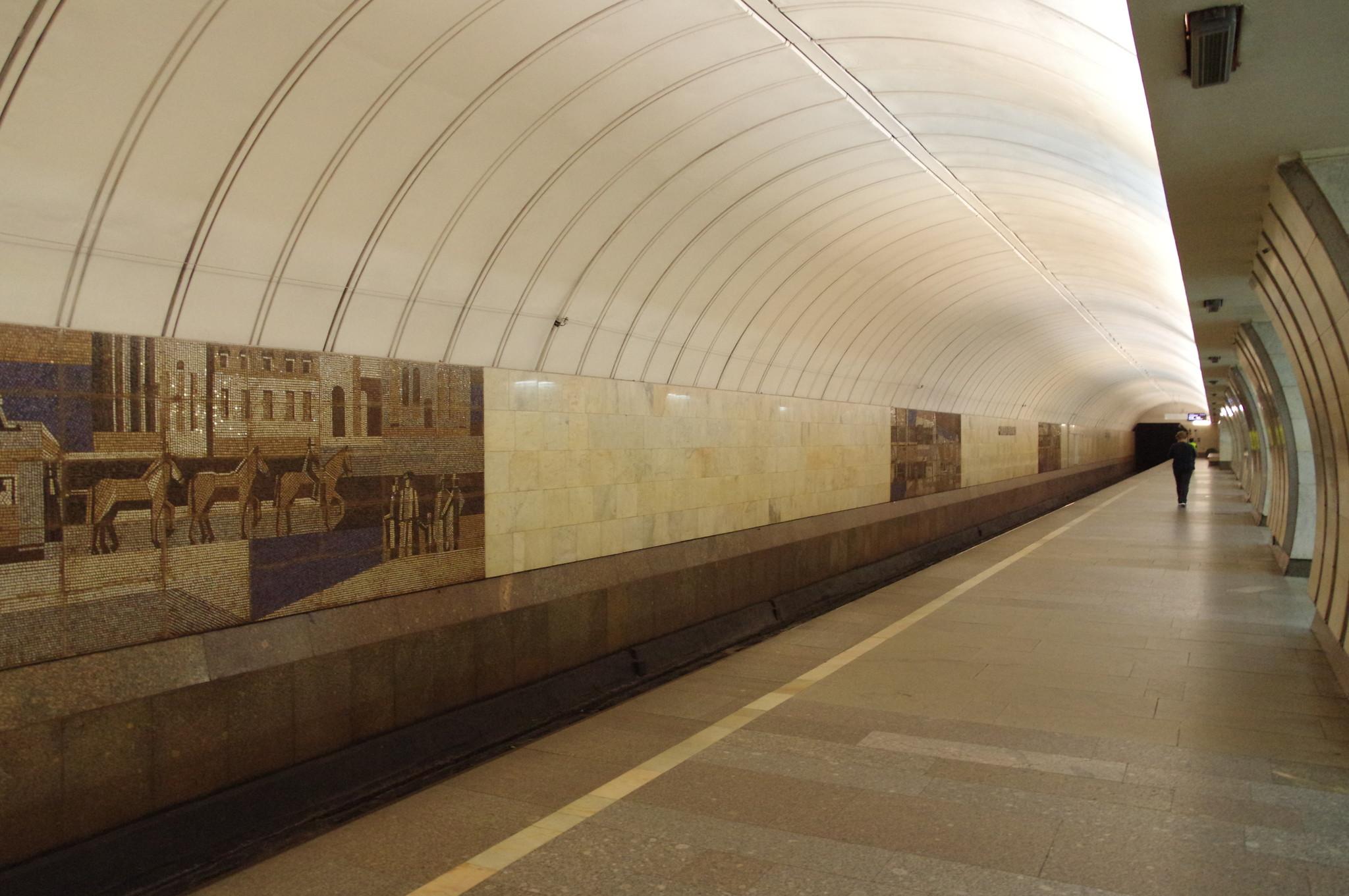 Станция «Савёловская» Серпуховско-Тимирязевской линии