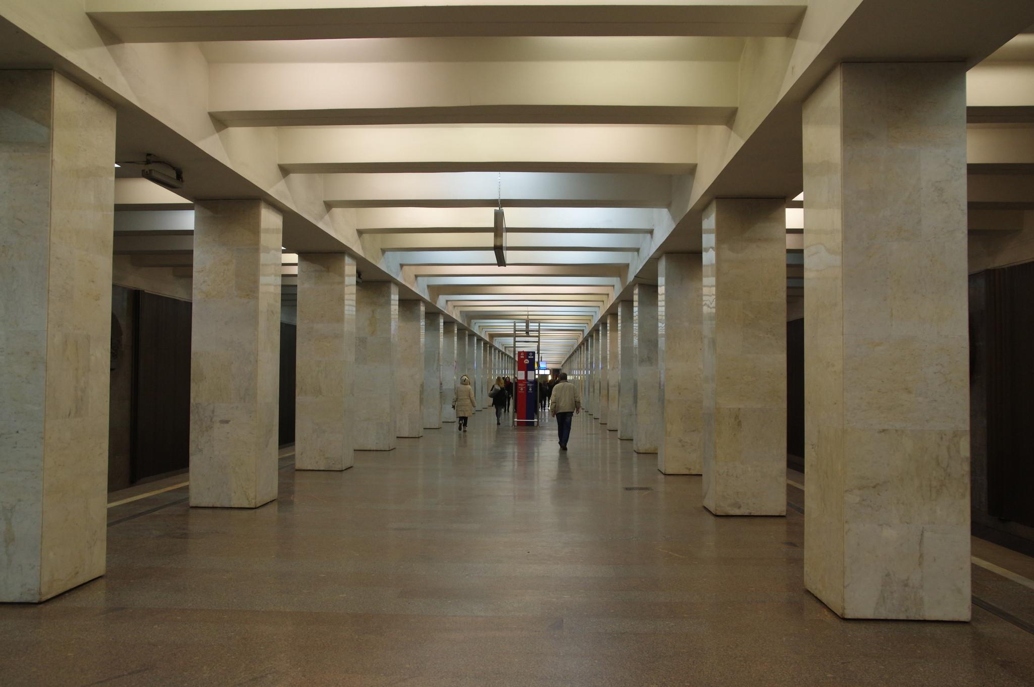 Станция «Владыкино» Серпуховско-Тимирязевской линии Московского метрополитена