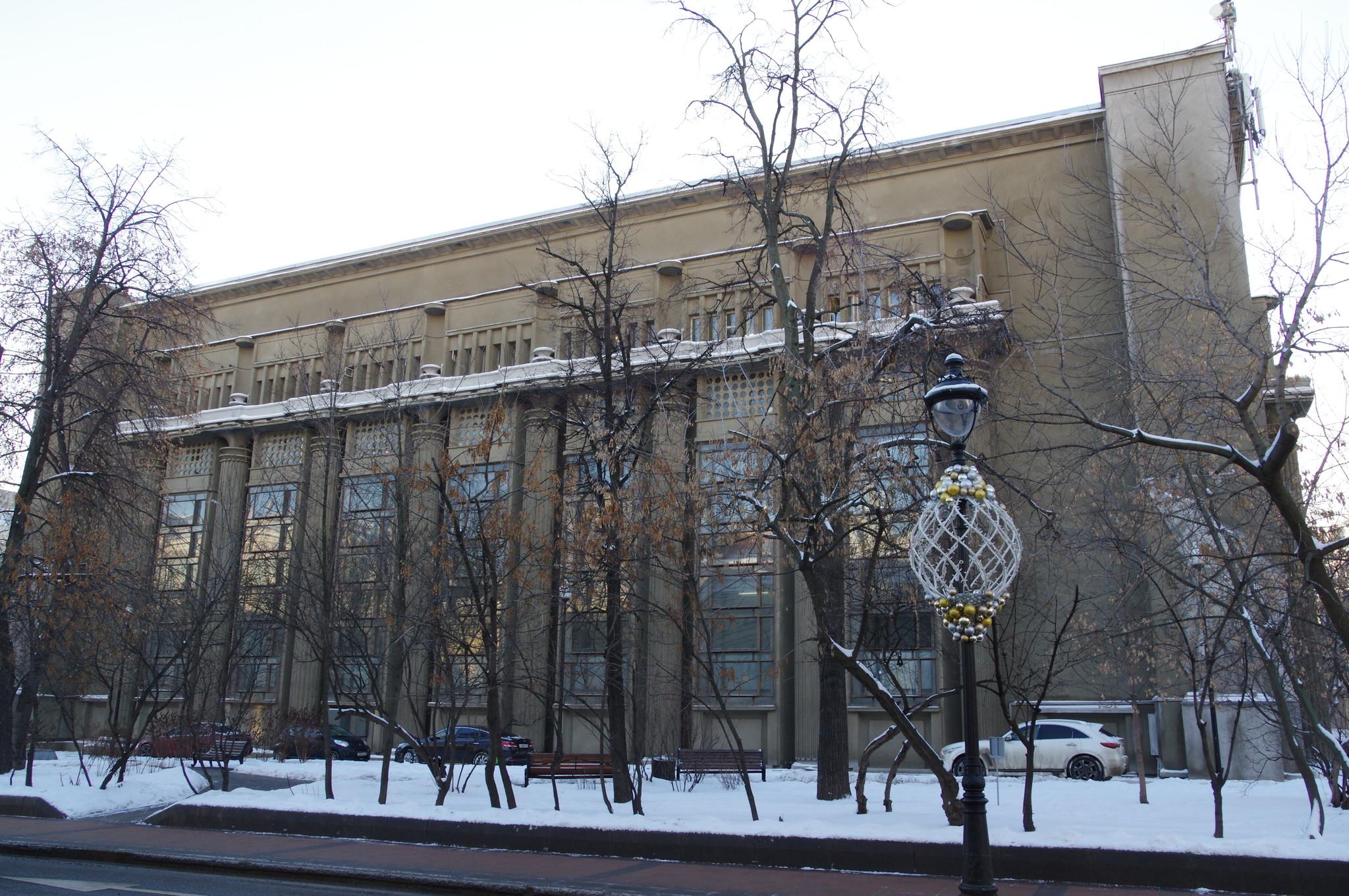 Электроподстанция Московского метрополитена (улица Большая Никитская, дом 7/10)