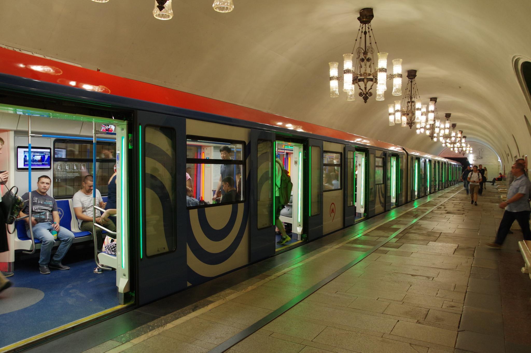Электровагоны метрополитена серии 81-765/766/767 «Москва»
