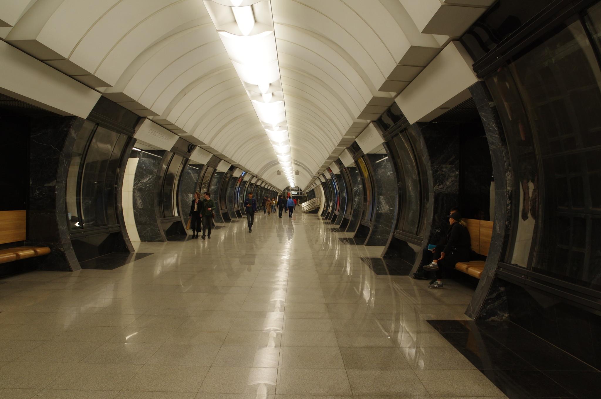 Станция «Савёловская» Большой кольцевой линии