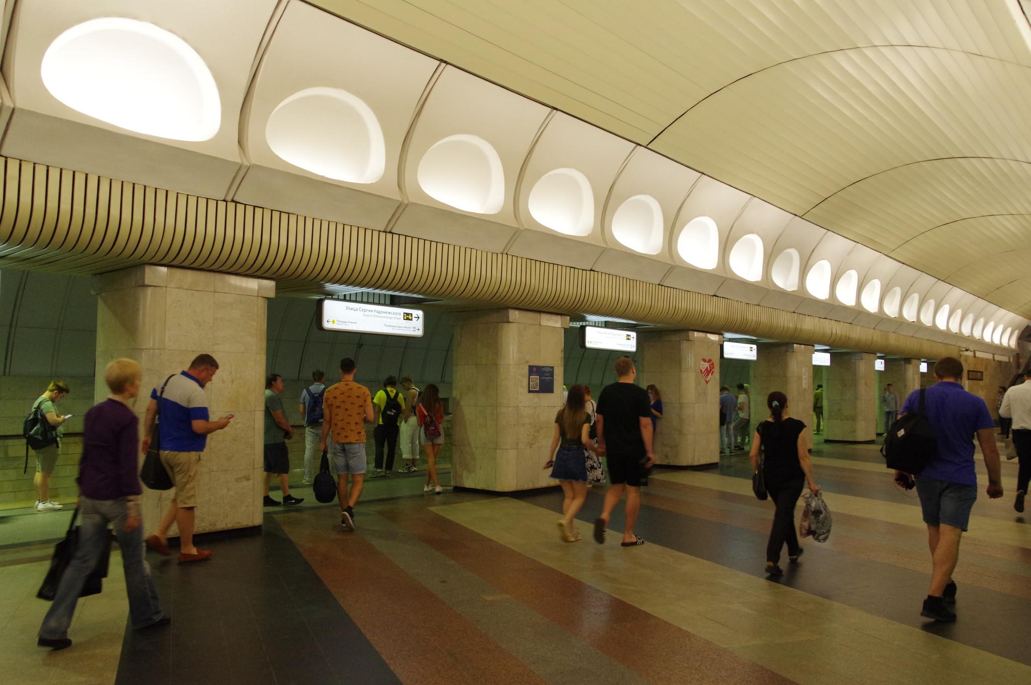 Станция «Римская» Люблинско-Дмитровской линии Московского метрополитена