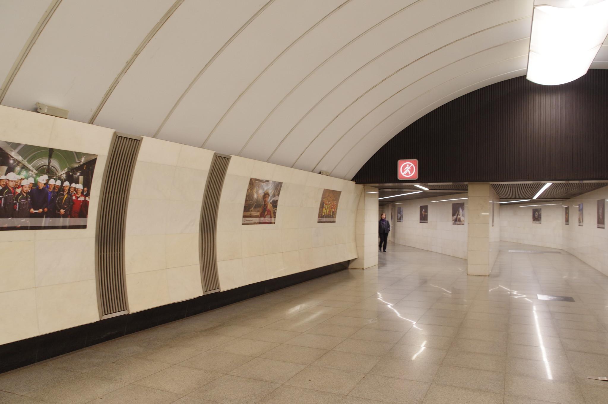 Станция «Савёловская» Большой кольцевой линии Московского метрополитена