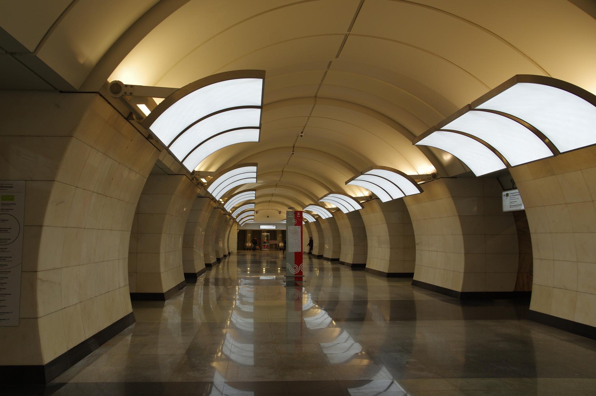 Станция «Бутырская» Люблинско-Дмитровской линии Московского метрополитена