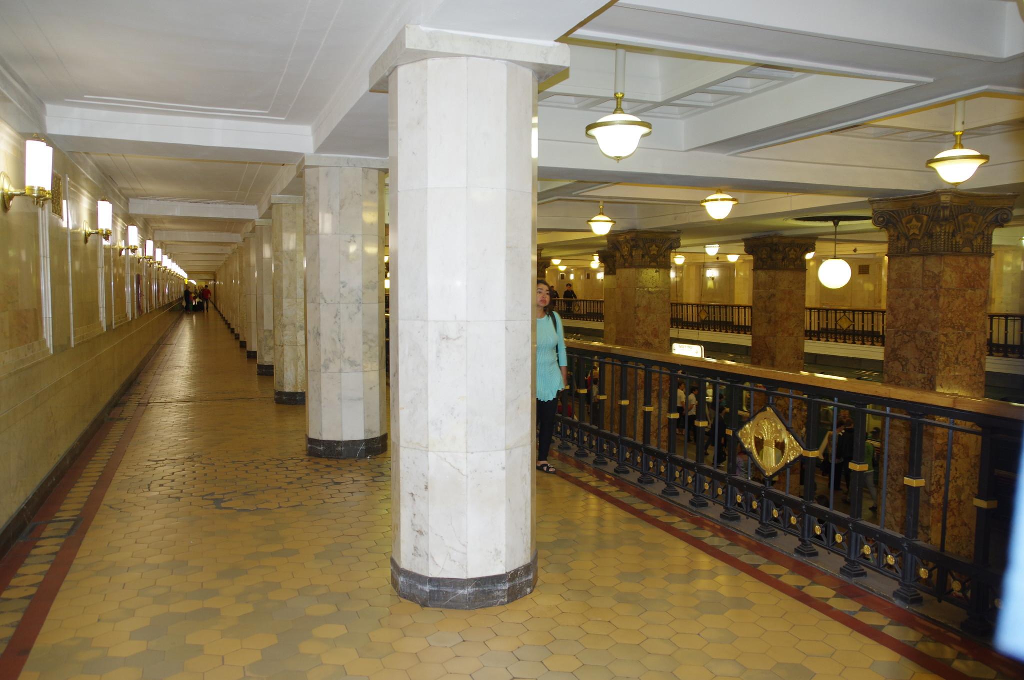 Станция «Комсомольская» Сокольнической линии Московского метрополитена
