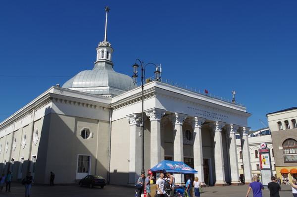 Павильон станции «Комсомольская» московского метрополитена