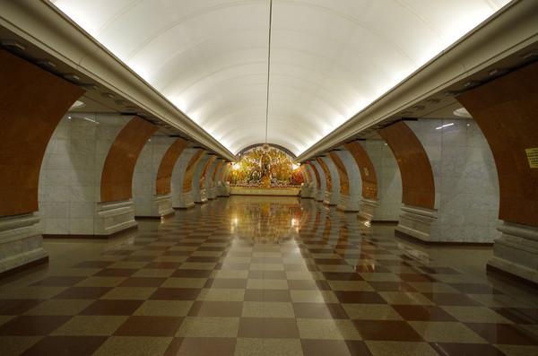 Станция «Парк Победы»