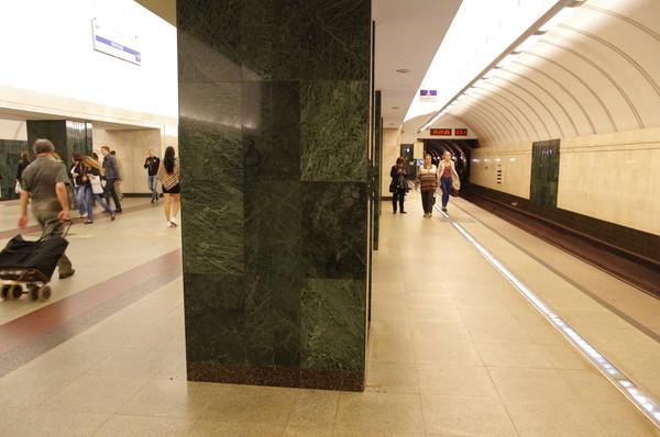Станция «Трубная» Люблинско-Дмитровской линии Московского метрополитена
