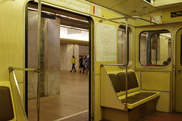Салон вагона 81-714.5М