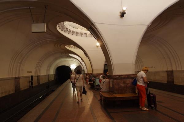Станция «Сокол» Замоскворецкой линии Московского метрополитена