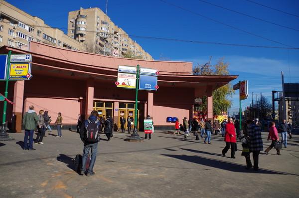Станция «Красносельская» Сокольнической линии Московского метрополитена