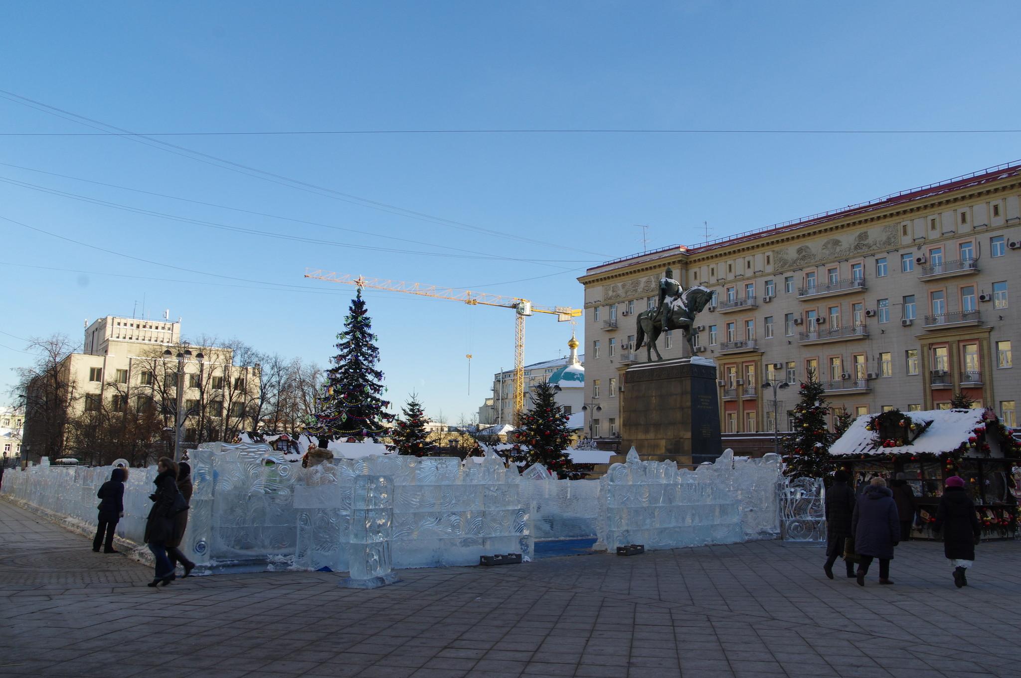 Ярмарка «Сказка о царе Султане» на Тверской площади
