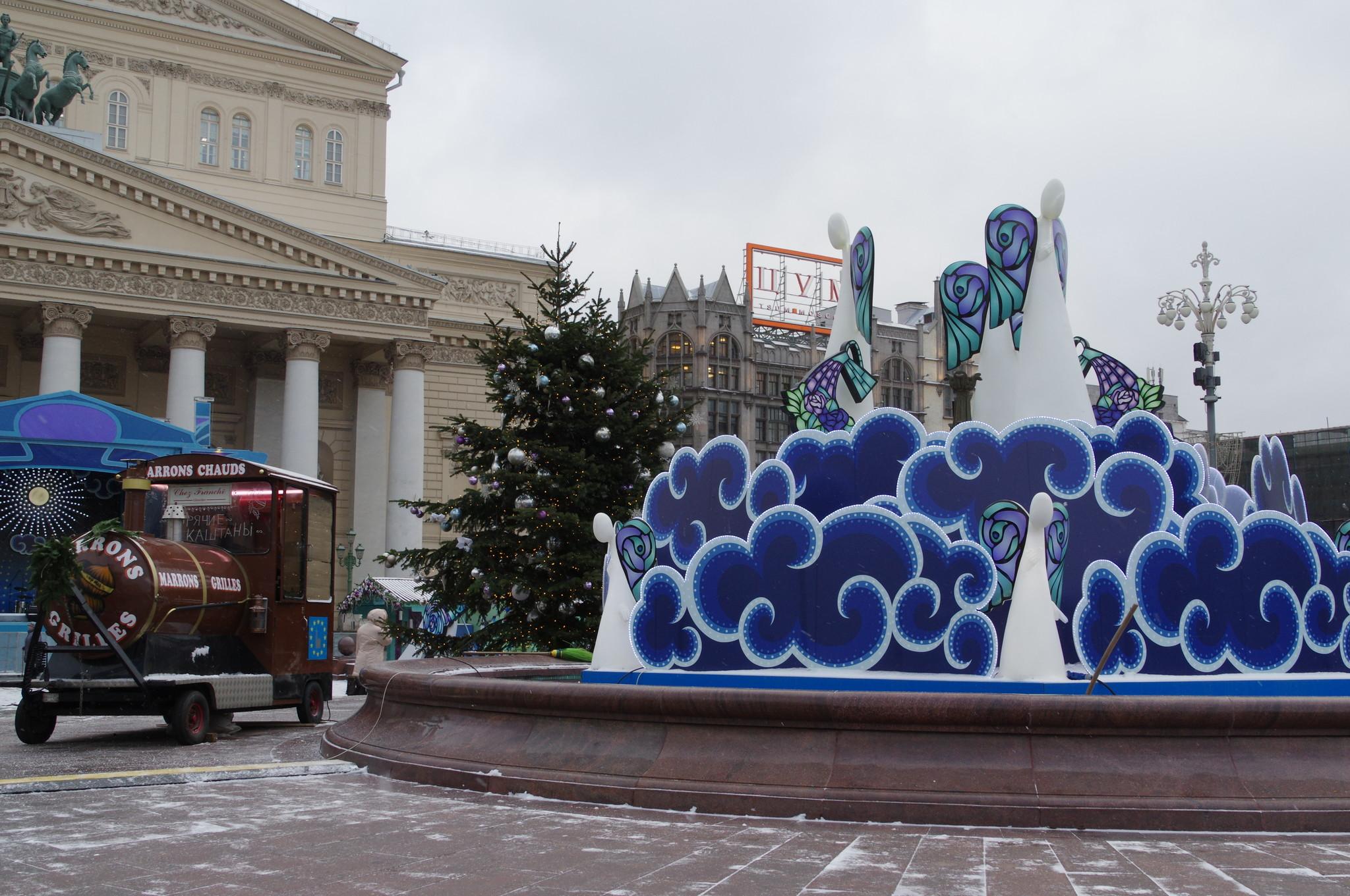 Ярмарка «Ангелов» на Театральной площади