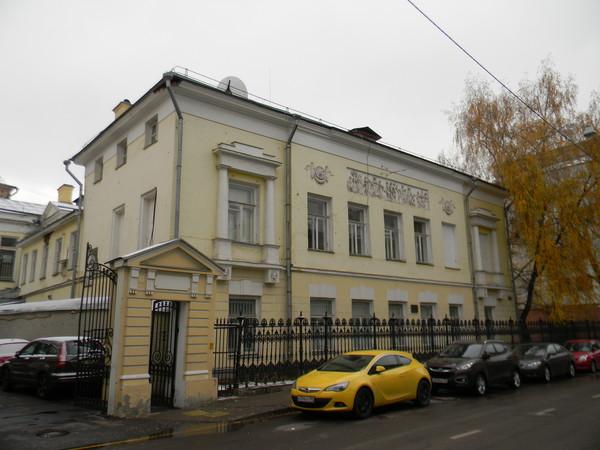 Здание посольства Греции в Москве (Леонтьевский переулок, дом 4)