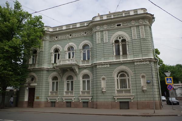 Городская усадьба Я.М. Шлоссберга (Поварская улица, дом 46)