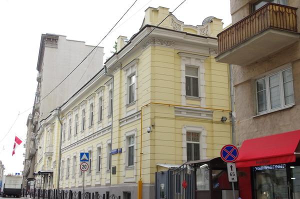 Особняк Н.И. Казакова. Здание посольства Канады в Москве (Староконюшенный переулок, дом 23)