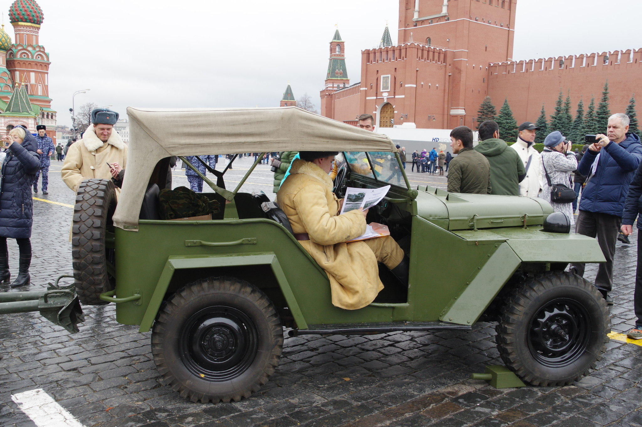 Военный полноприводный легковой автомобиль ГАЗ-67Б