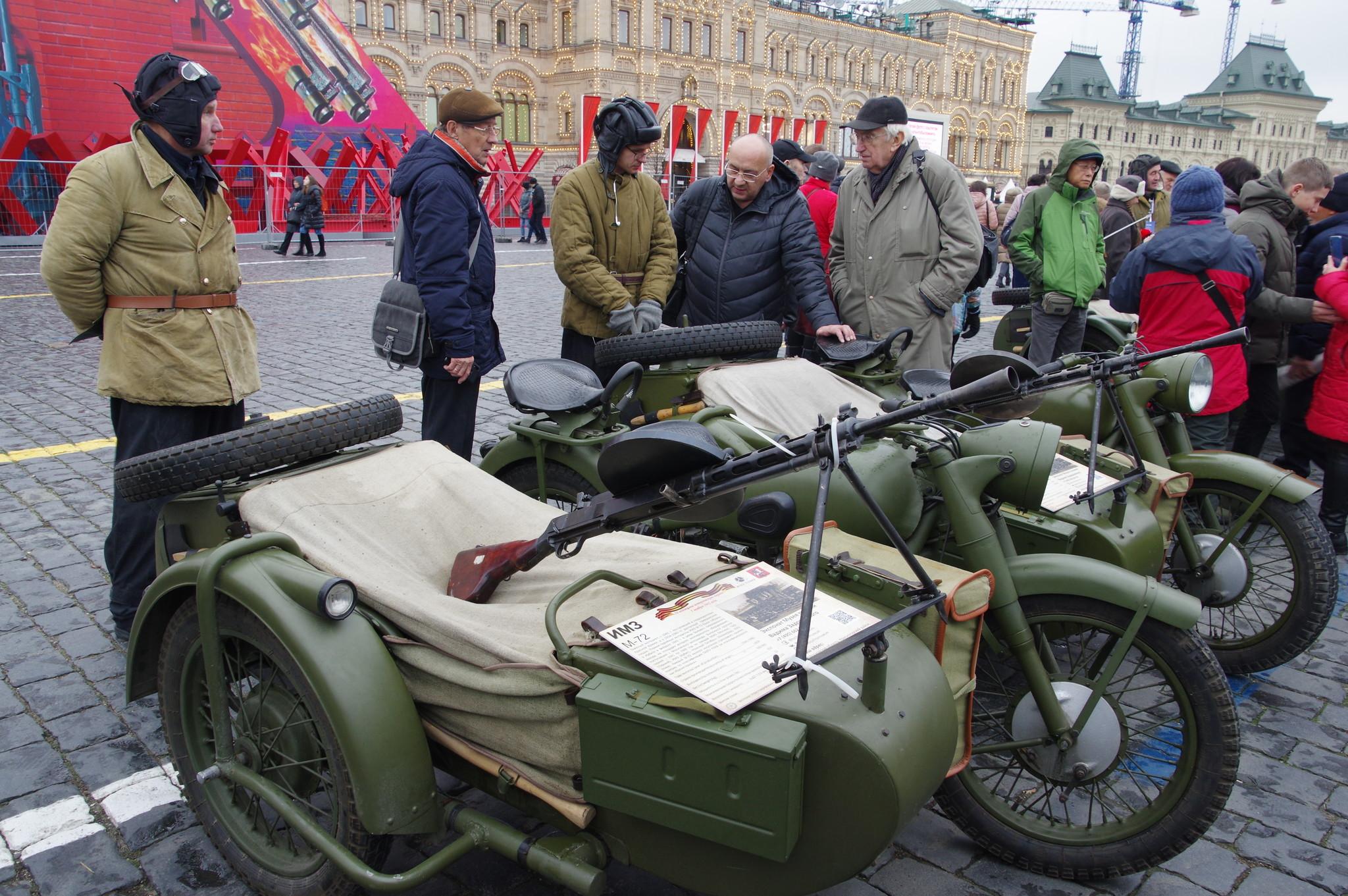 М-72 - советский тяжёлый мотоцикл. Выпускался на заводе ИМЗ (Ирбит)
