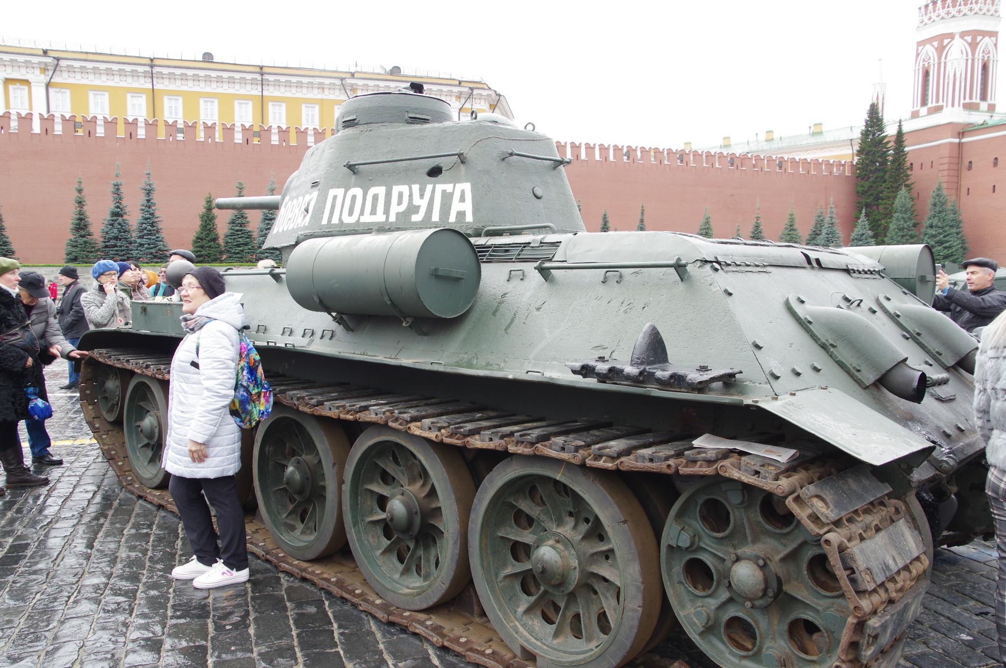 Средний танк Т-34-76 «Боевая подруга»