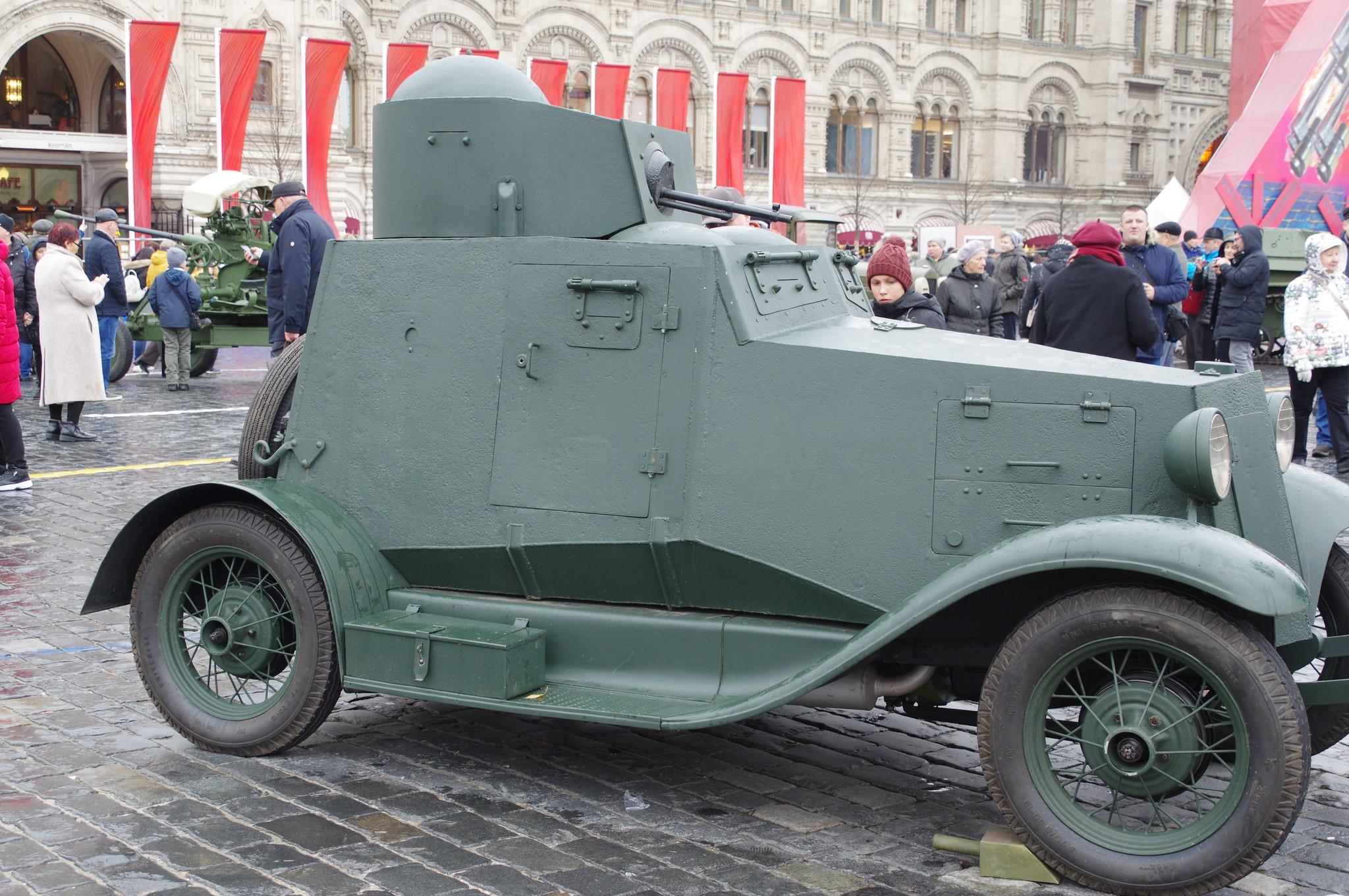 Лёгкий бронеавтомобиль ФАИ