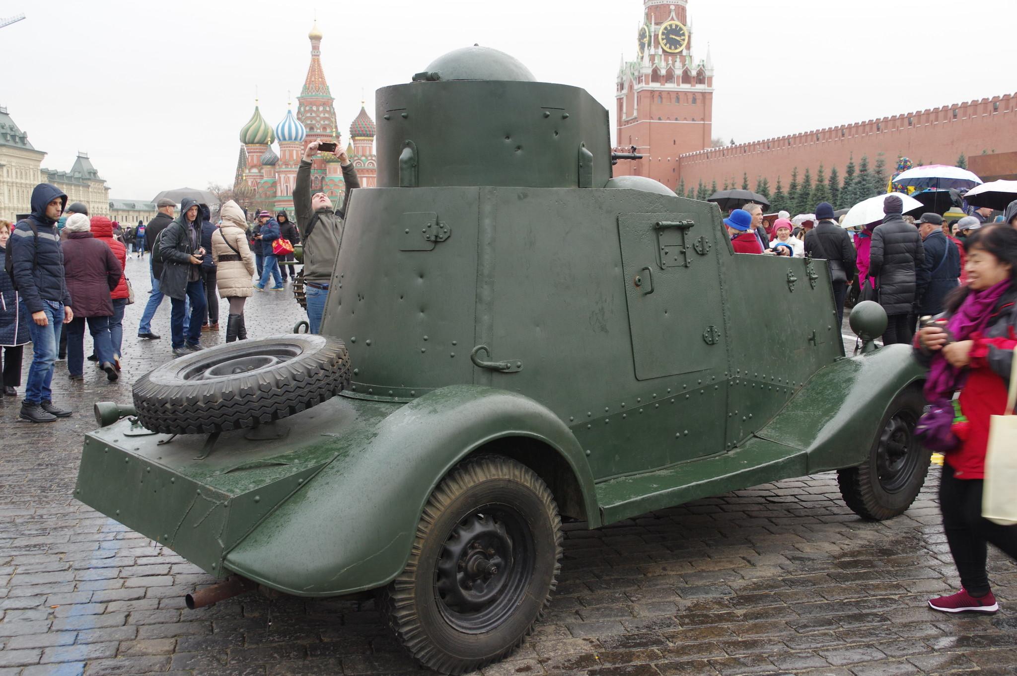Лёгкий бронеавтомобиль ФАИ-М
