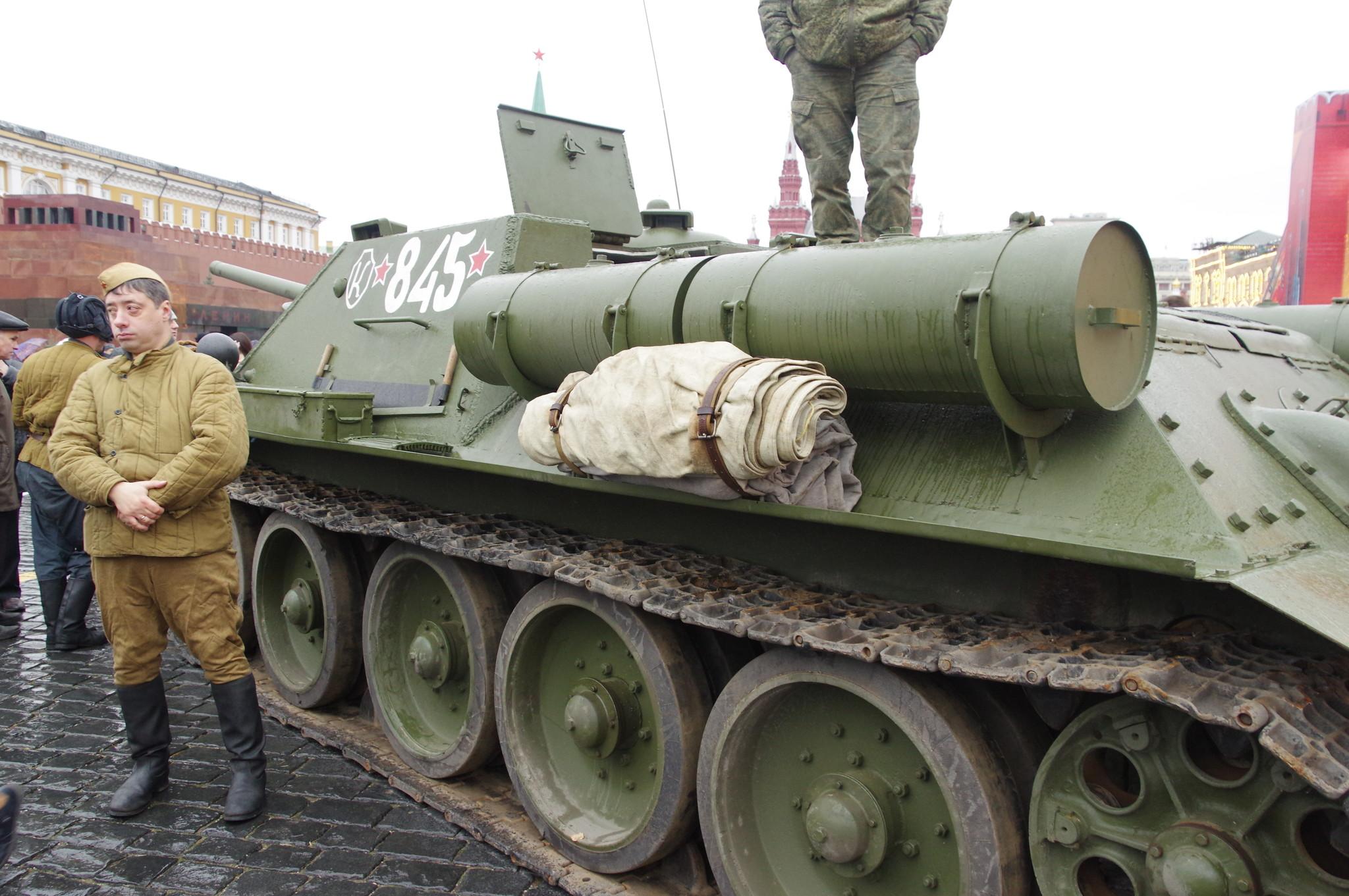 Самоходно-артиллерийская установка СУ-85