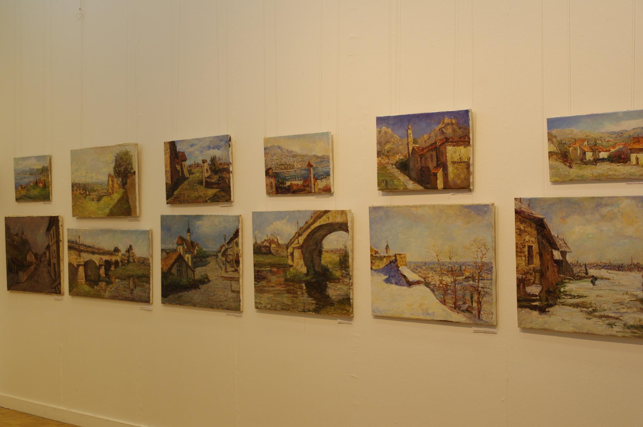 Выставка «Путешествие по Нормандии» Ольги Смирновой в ЦДХ на Крымском валу